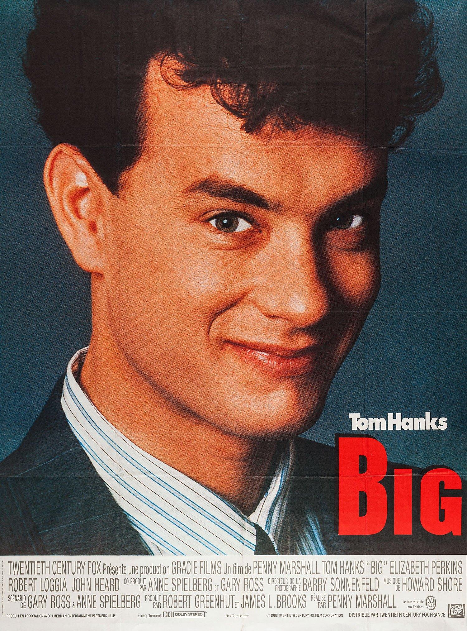 "Affiche du film ""Big"""
