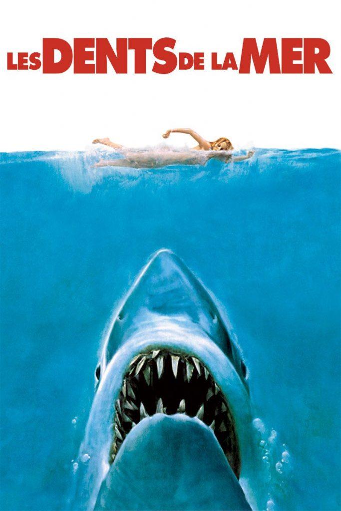 """Affiche du film """"Les dents de la mer"""""""