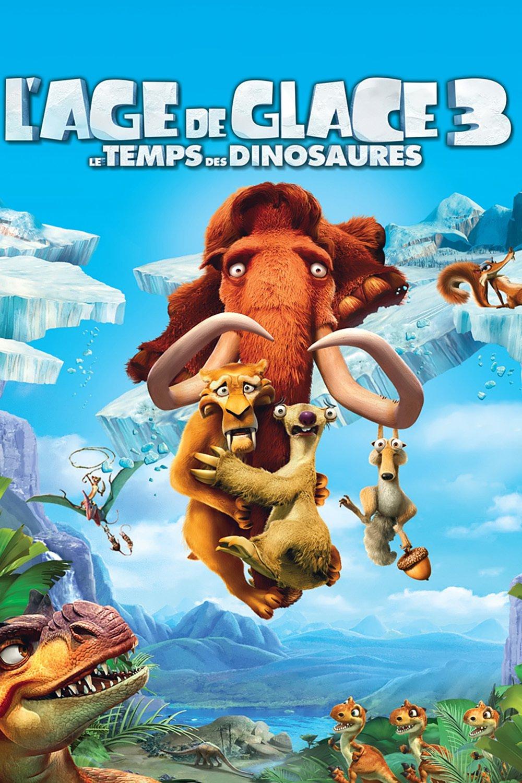 """Affiche du film """"L'Âge de glace 3 : Le Temps des dinosaures"""""""