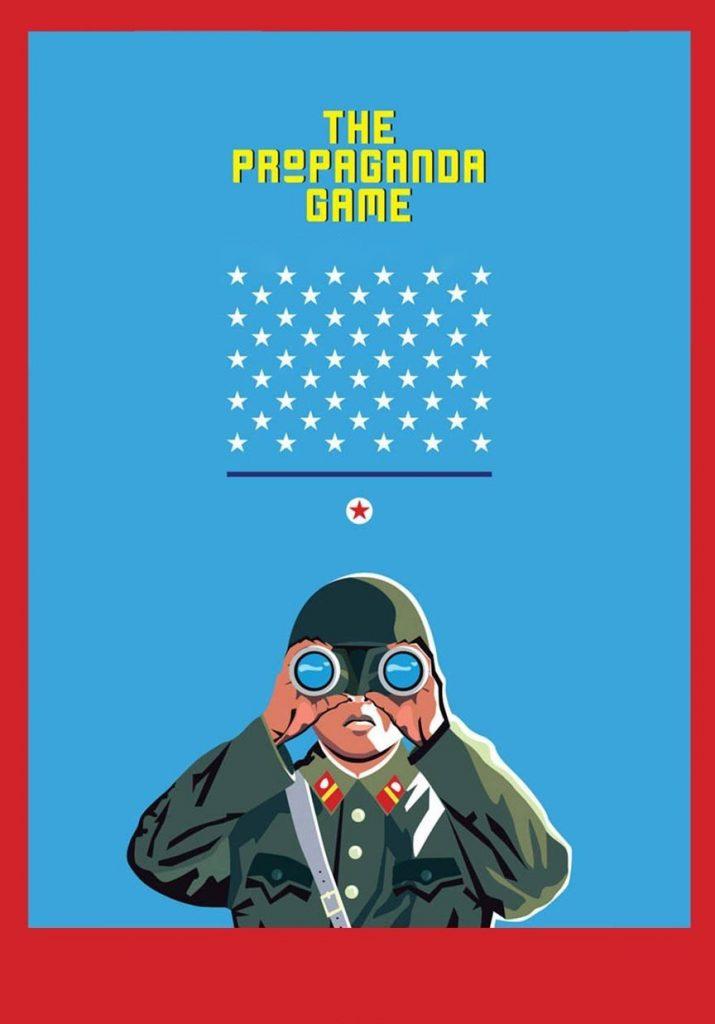 """Affiche du film """"The Propaganda Game"""""""
