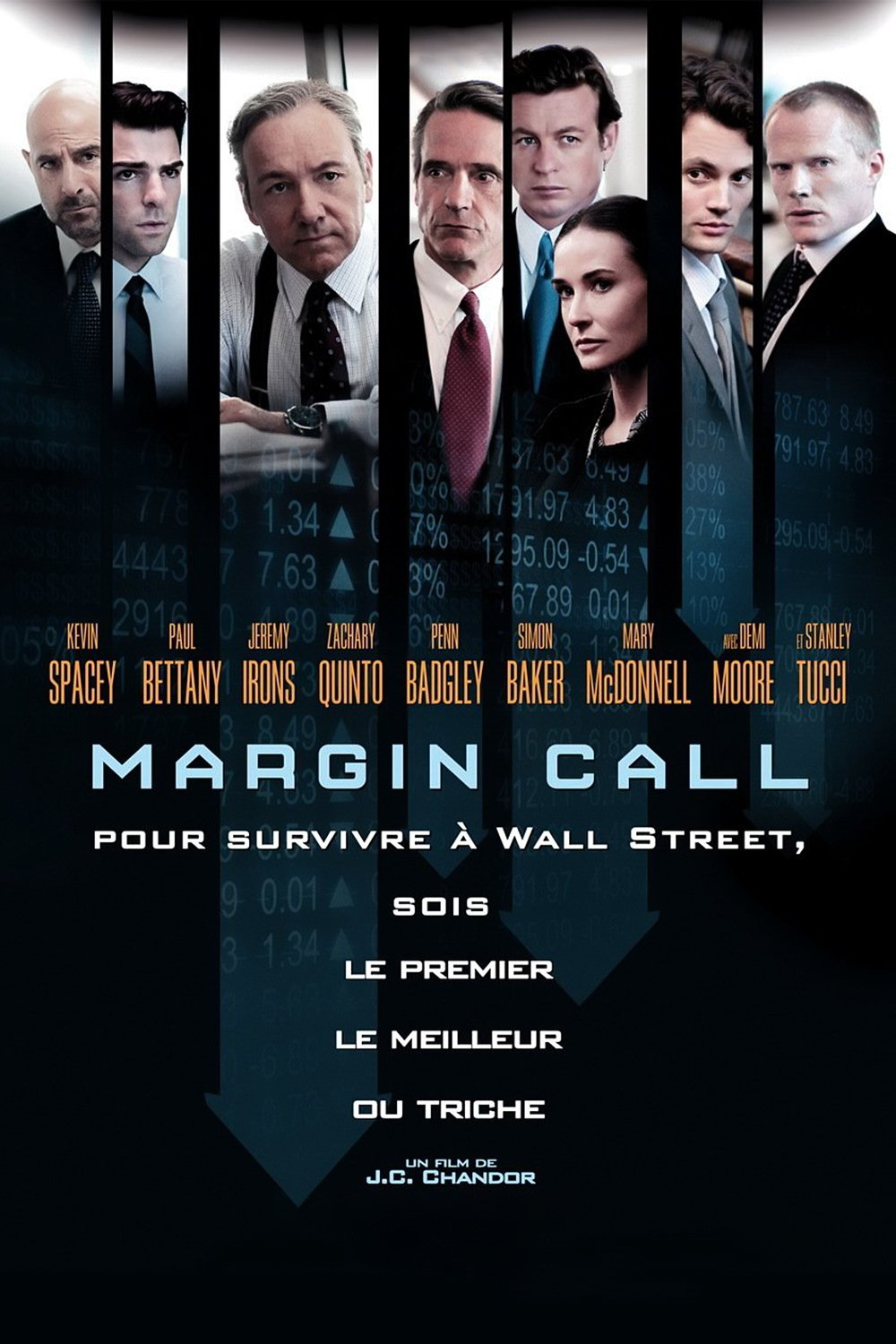 "Affiche du film ""Margin call"""