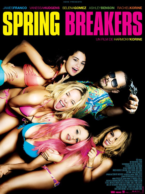 "Affiche du film ""Spring Breakers"""