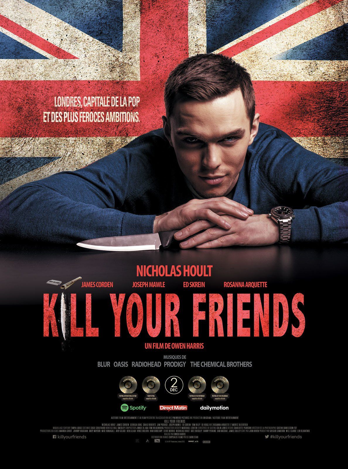 """Affiche du film """"Kill Your Friends"""""""
