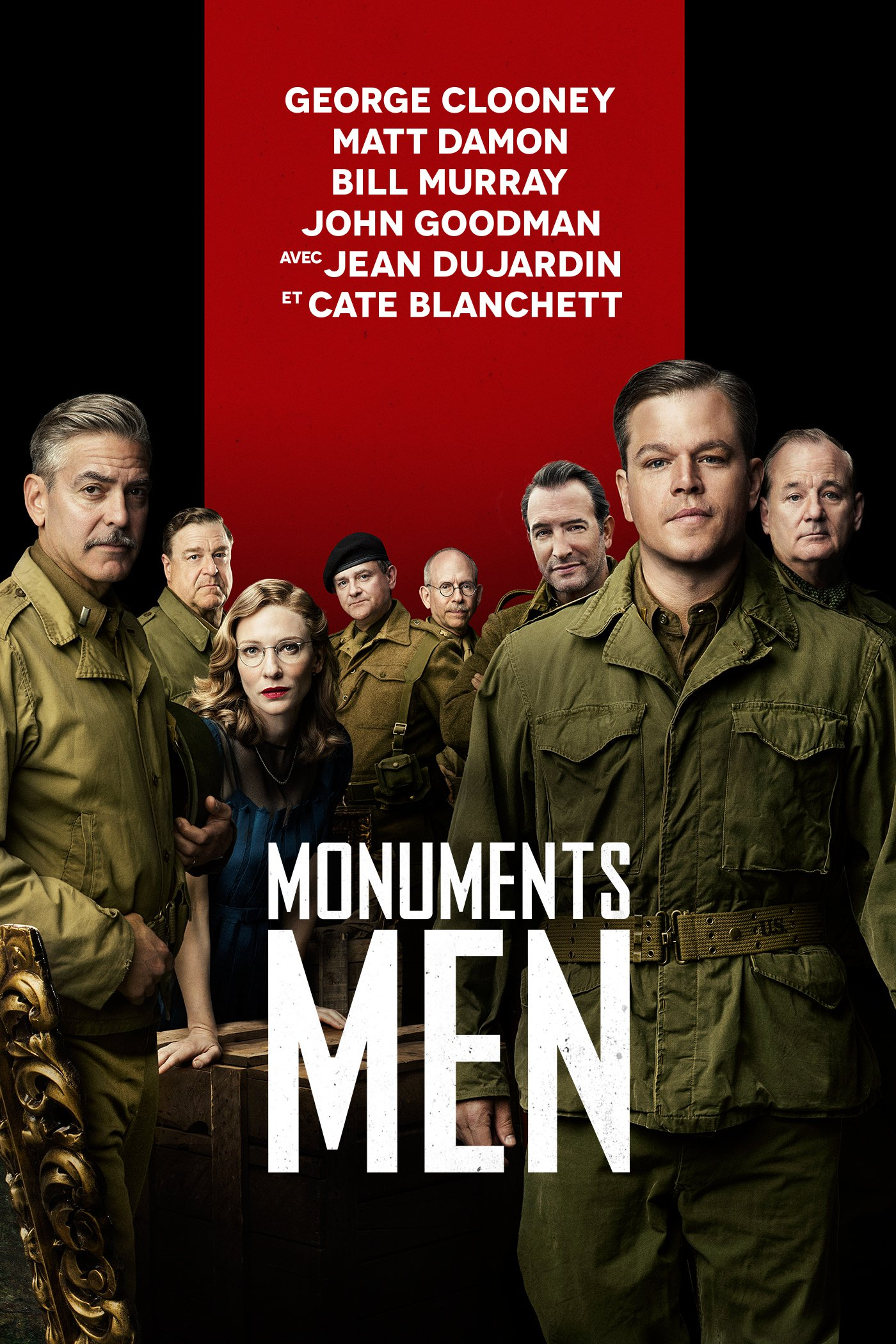 """Affiche du film """"Monuments Men"""""""