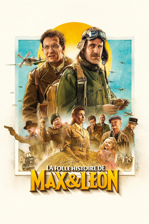 """Affiche du film """"La Folle histoire de Max et Léon"""""""