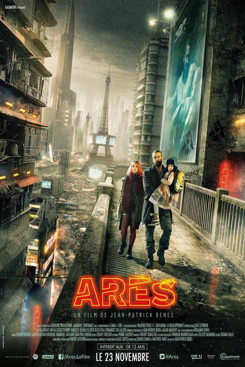 """Affiche du film """"Arès"""""""