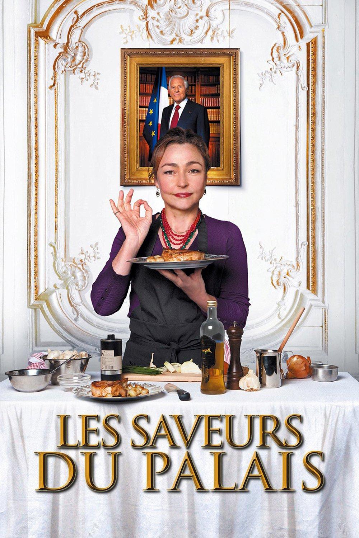 """Affiche du film """"Les saveurs du Palais"""""""