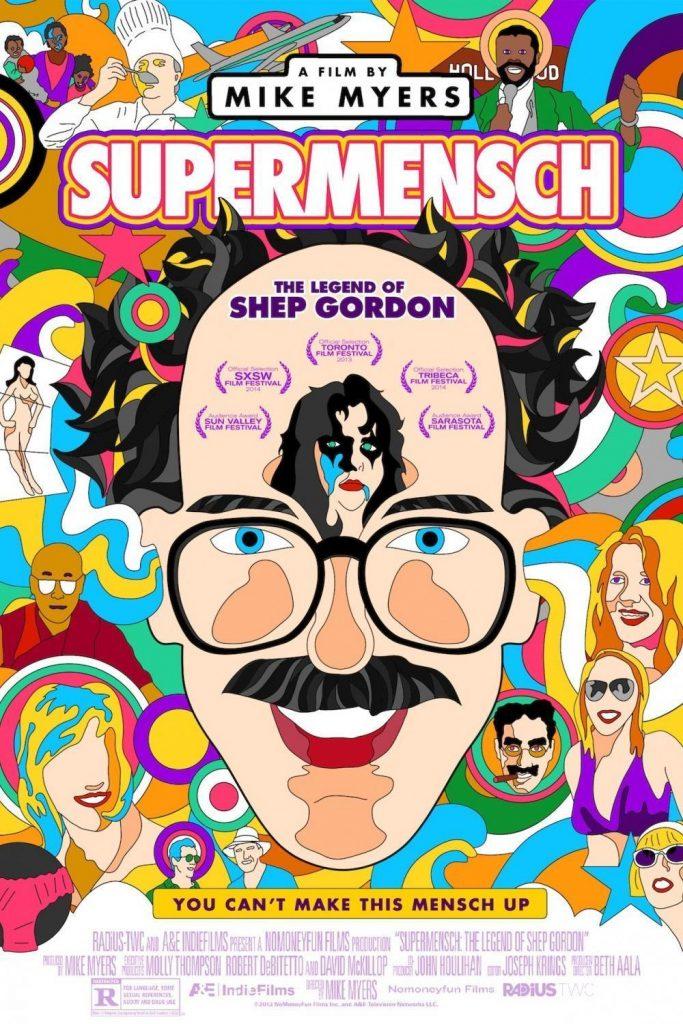 "Affiche du film ""Supermensch: The Legend of Shep Gordon"""