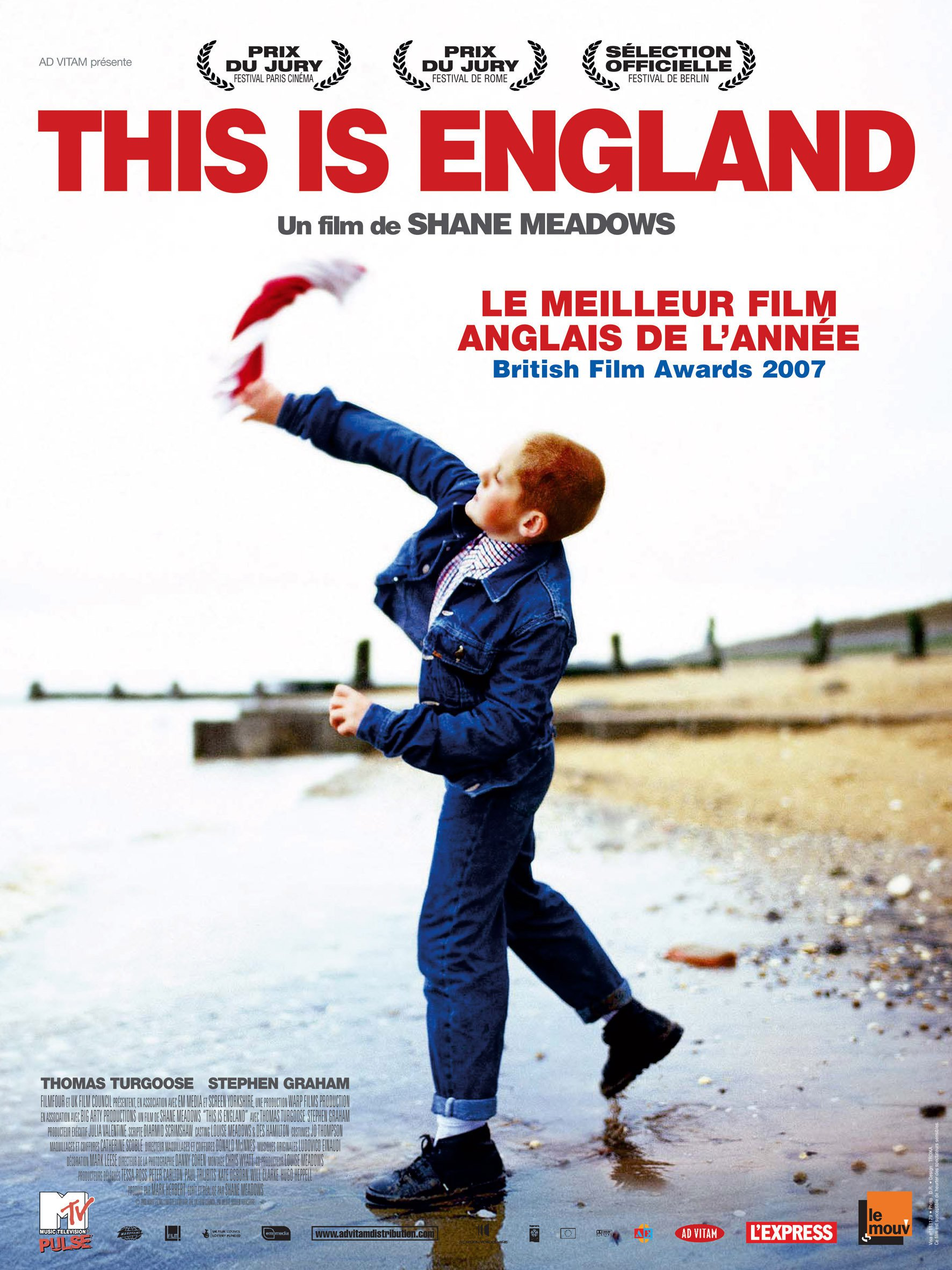 "Affiche du film ""This Is England"""