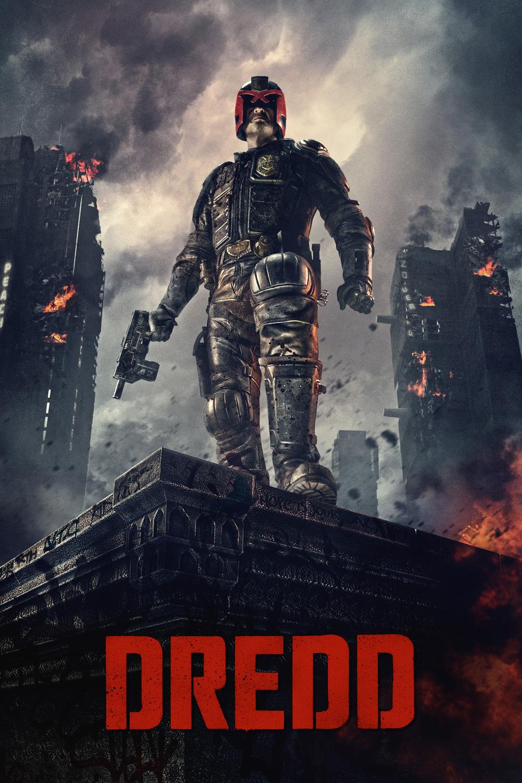 "Poster for the movie ""Dredd"""