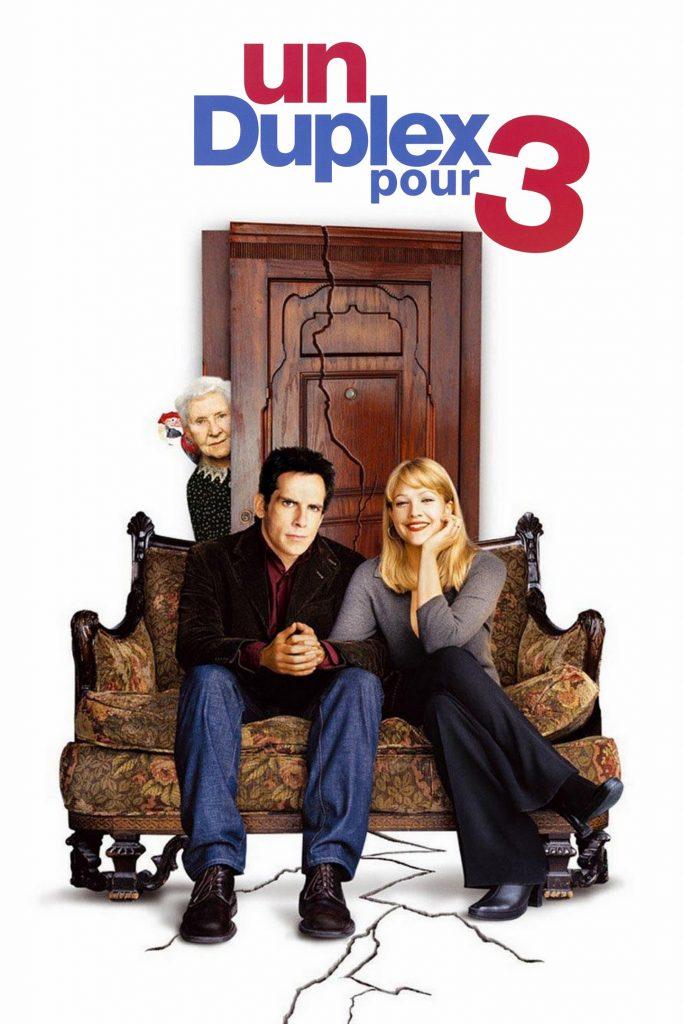 """Affiche du film """"Un duplex pour 3"""""""