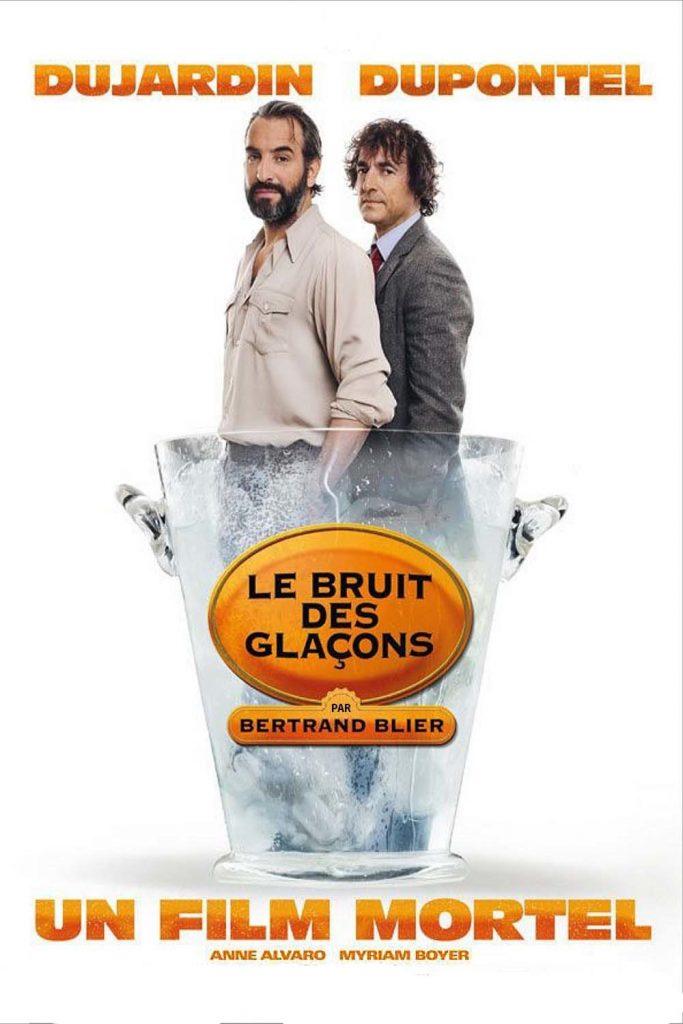 """Affiche du film """"Le Bruit des glaçons"""""""