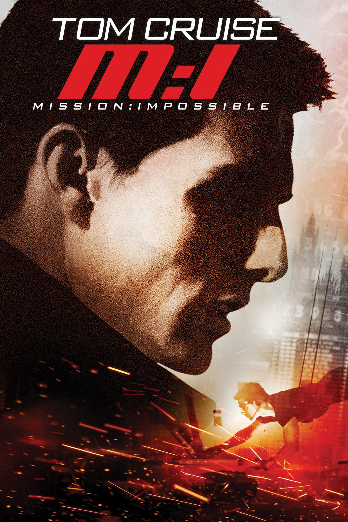 "Affiche du film ""Mission : Impossible"""