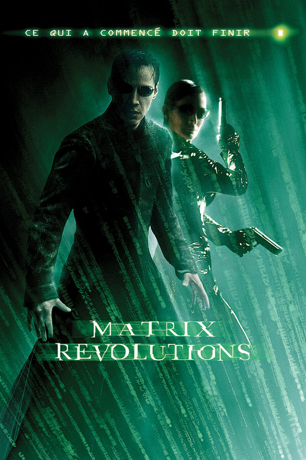 "Affiche du film ""Matrix Revolutions"""