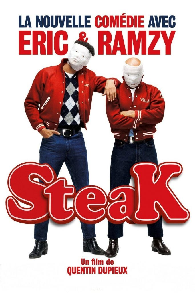 """Affiche du film """"Steak"""""""
