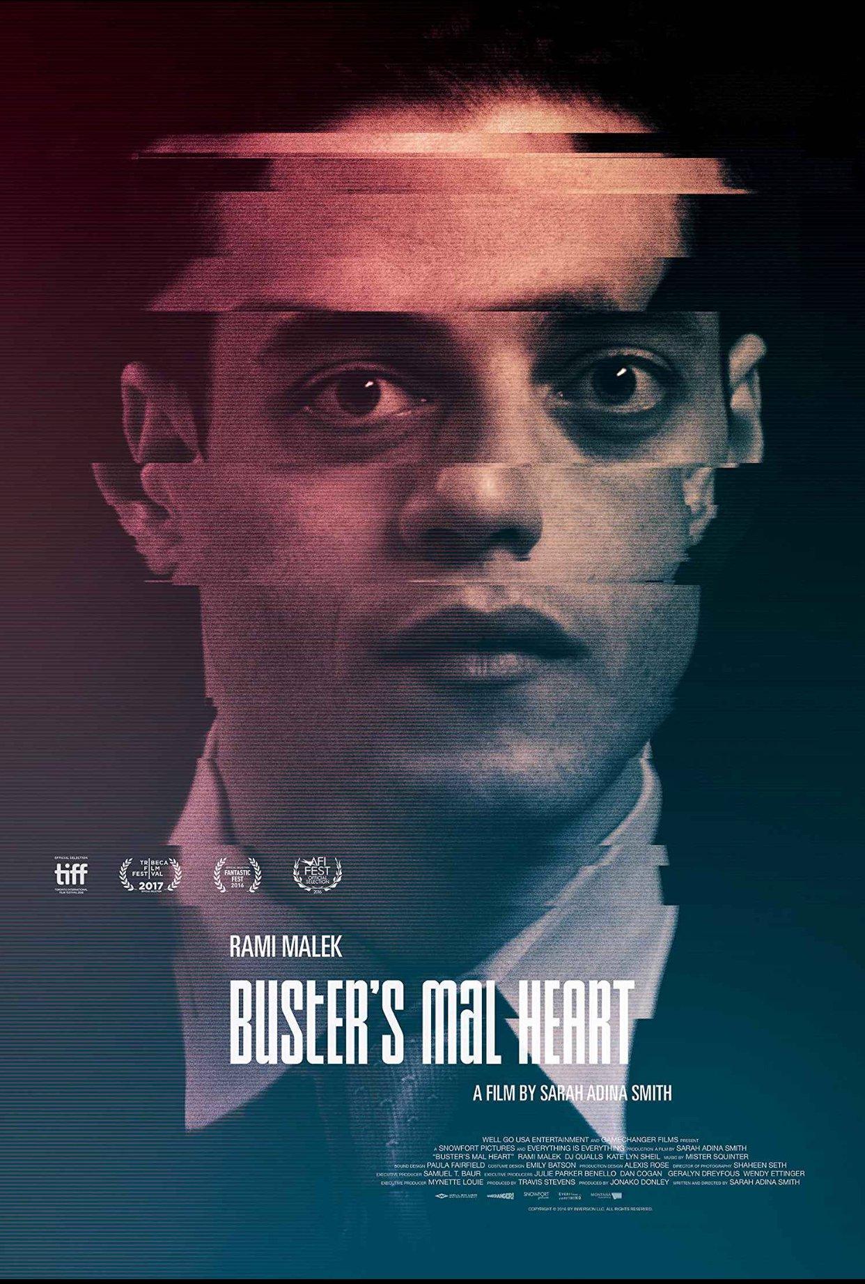 "Affiche du film ""Buster's Mal Heart"""
