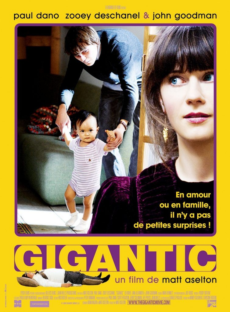 "Affiche du film ""Gigantic"""