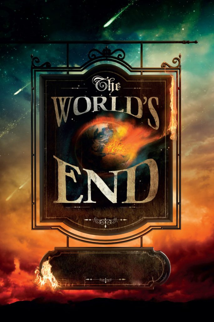 """Poster for the movie """"Le Dernier Pub avant la fin du monde"""""""