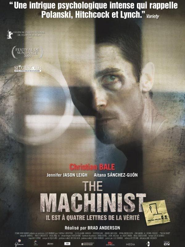 "Affiche du film ""The Machinist"""