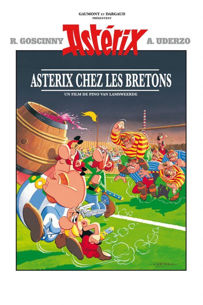 """Affiche du film """"Astérix chez les Bretons"""""""
