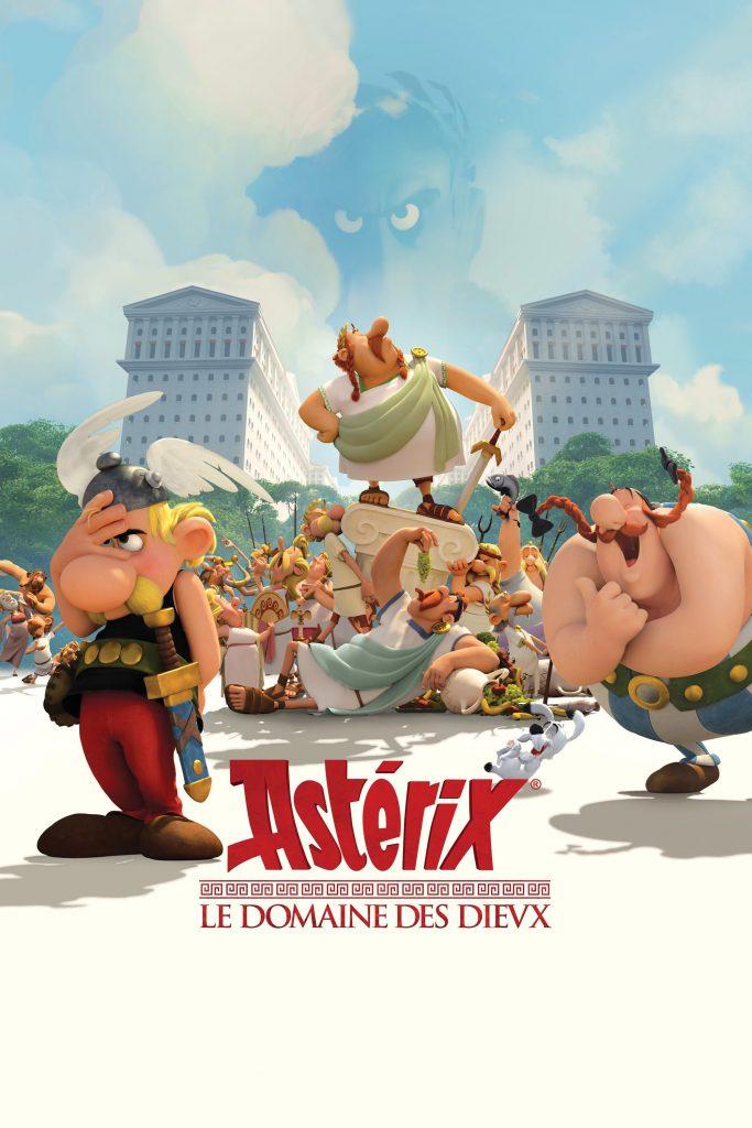 """Affiche du film """"Astérix : Le Domaine des dieux"""""""