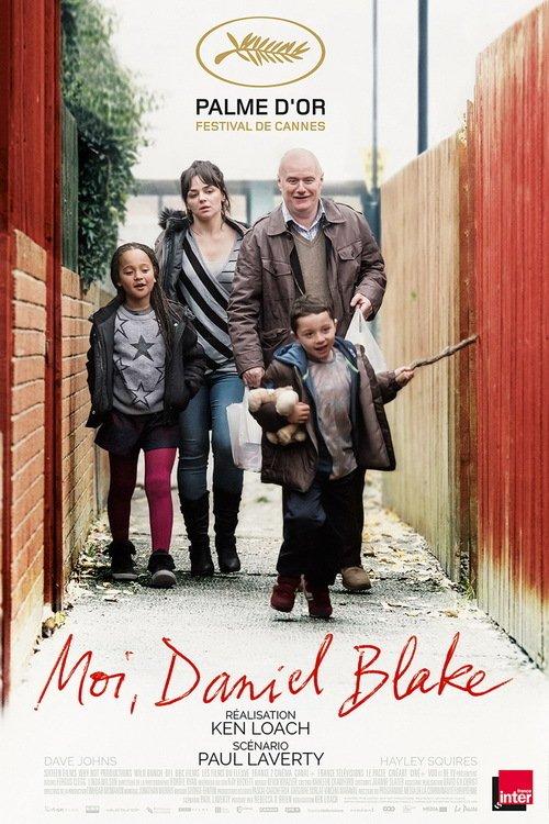 "Affiche du film ""Moi, Daniel Blake"""
