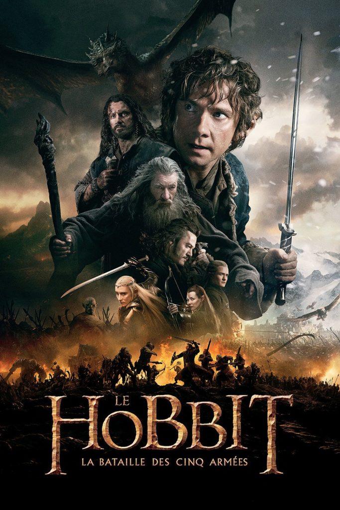 """Affiche du film """"Le Hobbit : La Bataille des cinq armées"""""""